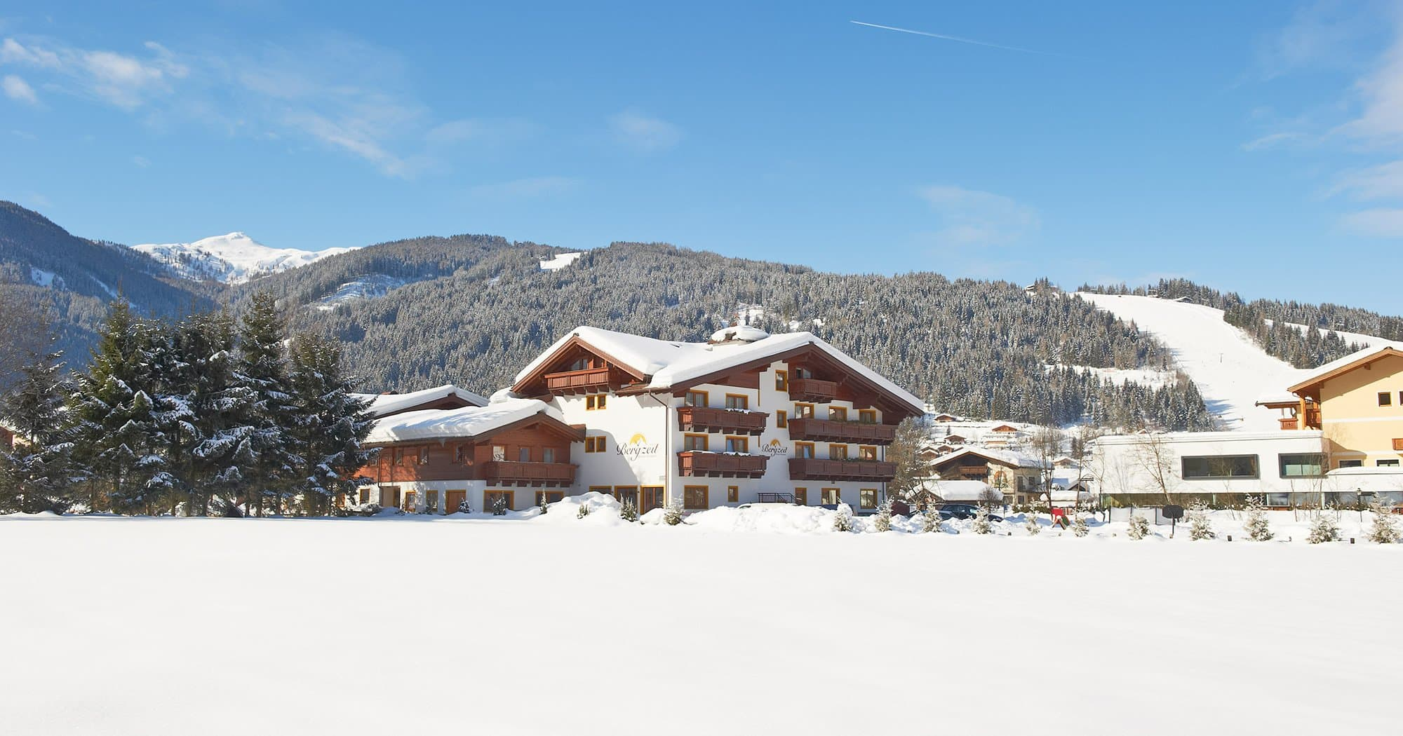 Kontakt Anreise Hotel Bergzeit Flachau
